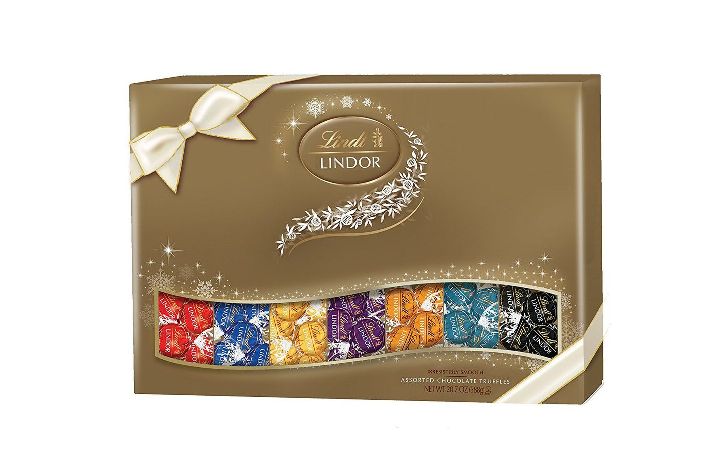 Best gifts for co workers under 30 on amazon lindt lindor holiday deluxe sampler assorted chocolate truffles 207 ounce gift box negle