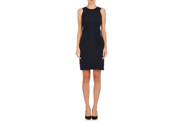 Barneys New York Crepe Cutout Dress