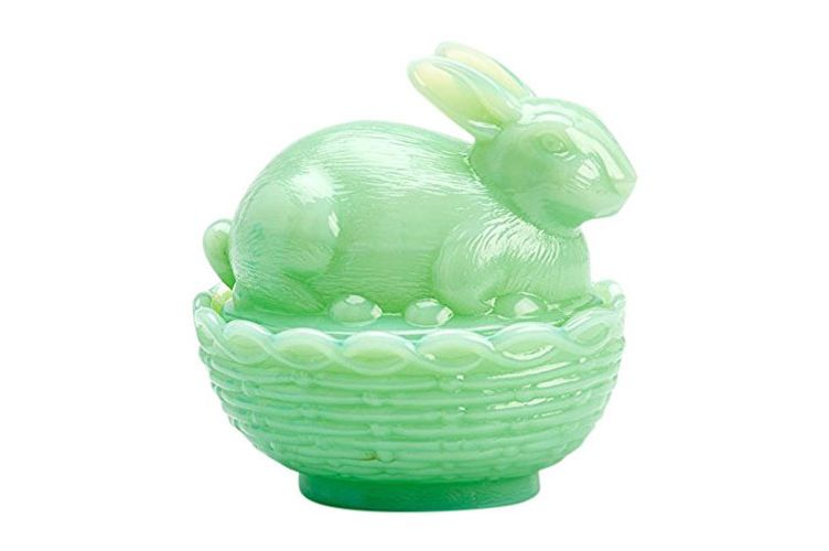 Mosser Glass Basket Dish