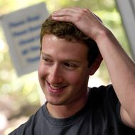 Mark Zuckerberg, co-founder and chief executive officer of Facebook Inc.