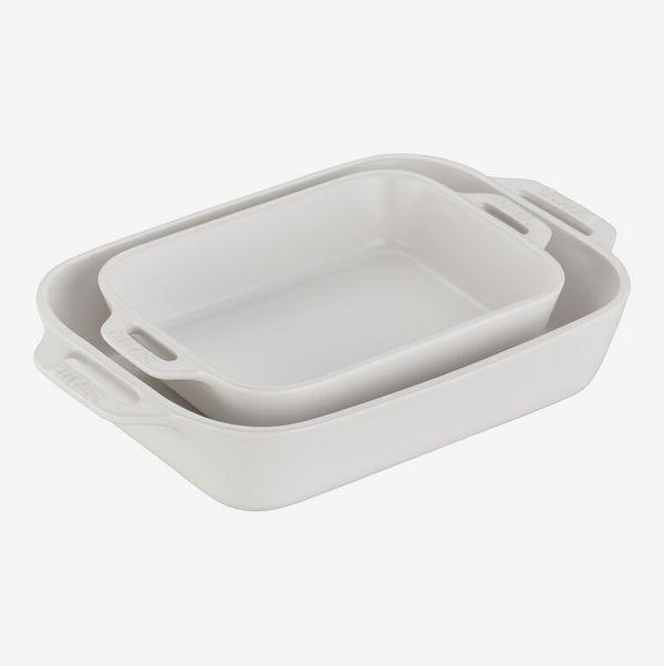Staub Ceramics 2 Piece Stoneware Baking Dish Set