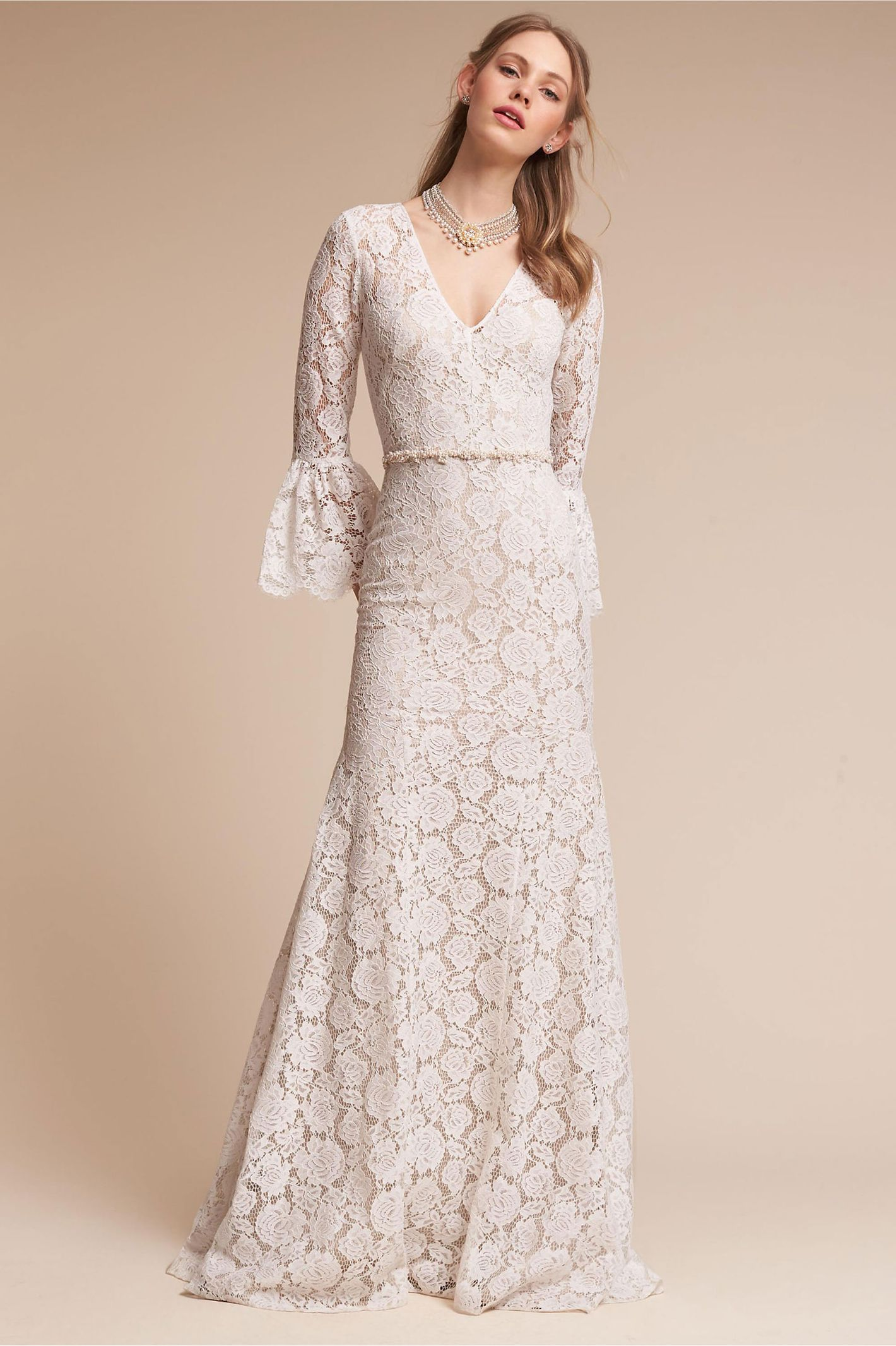 23 elegant long sleeve wedding dresses for winter weddings junglespirit