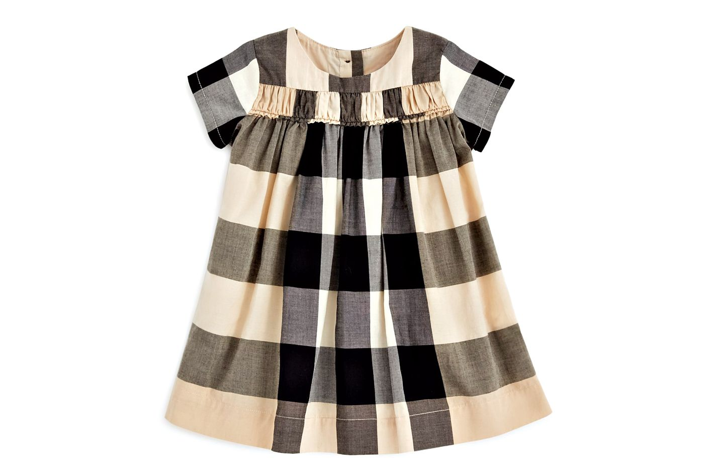 Burberry Girls' Ariadne Check Dress