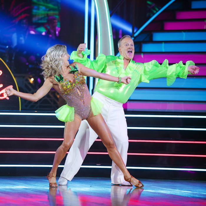 Former-White House Press Secretary Sean Spicer competes on 'Dancing With the Stars.'