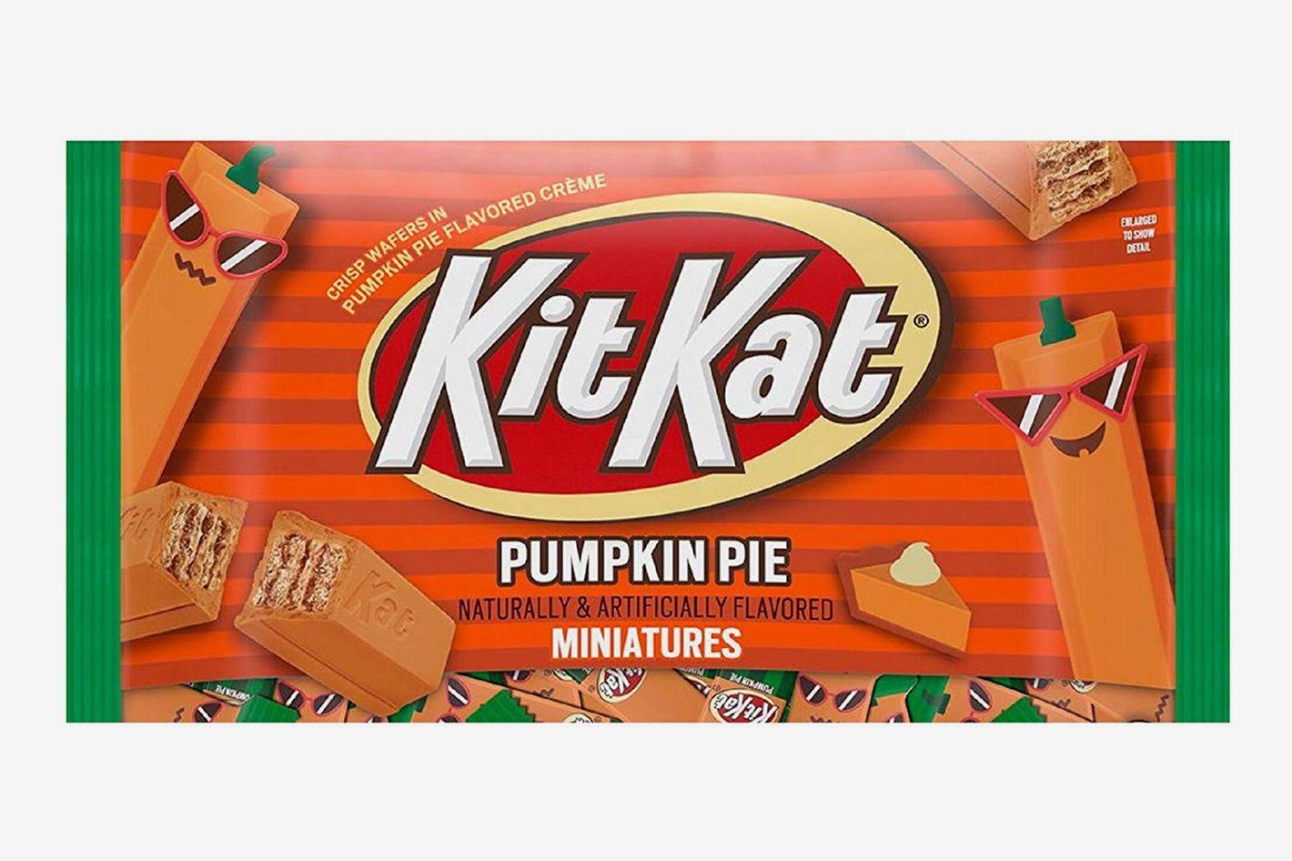Kit Kat Pumpkin Pie Miniatures