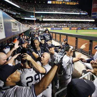 Baseball. MLB. New York Mets Vs New York Yankees. Citi Field, New York. USA.