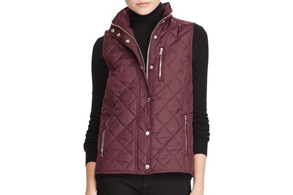 Lauren Ralph Lauren Classic Quilted Vest