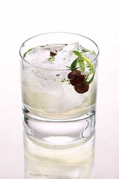 "<b>Elderflower Cocktail</b>   <i><a href=""http://toastedfrog.com/"">The Toasted Frog</a>, Bismarck</i>   This drink, which combines St. Germain and ginger-flavored Domaine de Canton, also has an unusual garnish: Two hazelnuts. In a shaker, combine 1 ounce Canton ginger liqueur, 1 ounce St. Germain, and 1 ounce gin (the bar uses Hendrick's). Add fresh mint leaves and lemon juice to taste. Shake with ice and strain into a rocks glass filled with fresh ice. Garnish with a lime wedge and two hazelnuts."