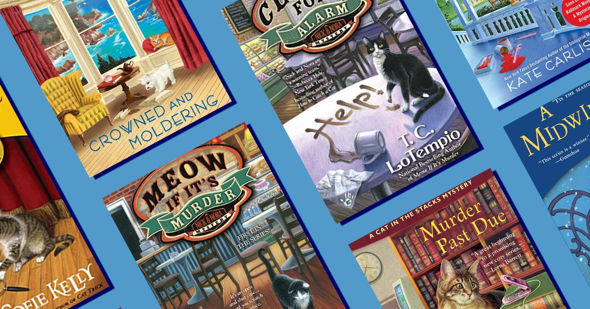 Cozy Mysteries Starring Cats Are a Blockbuster Trend