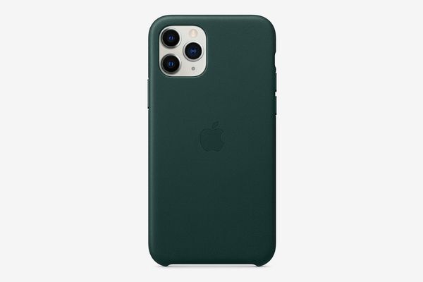 Apple Leather Case (for iPhone 11 Pro) - Forest Green