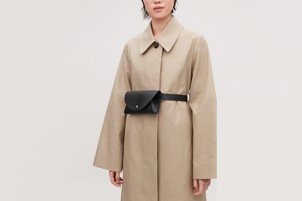 COS Detachable Leather Belt Bag