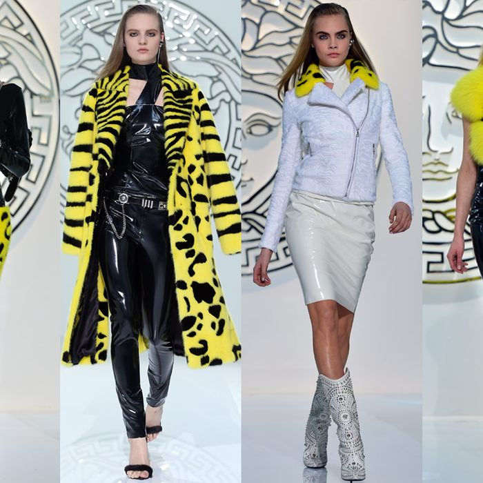 Bees at Versace.