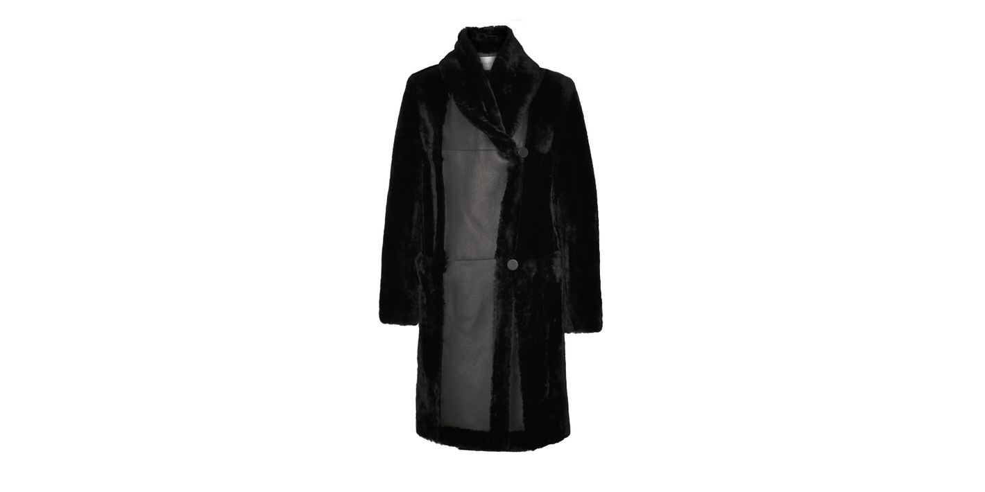 Max Mara Shearling Coat