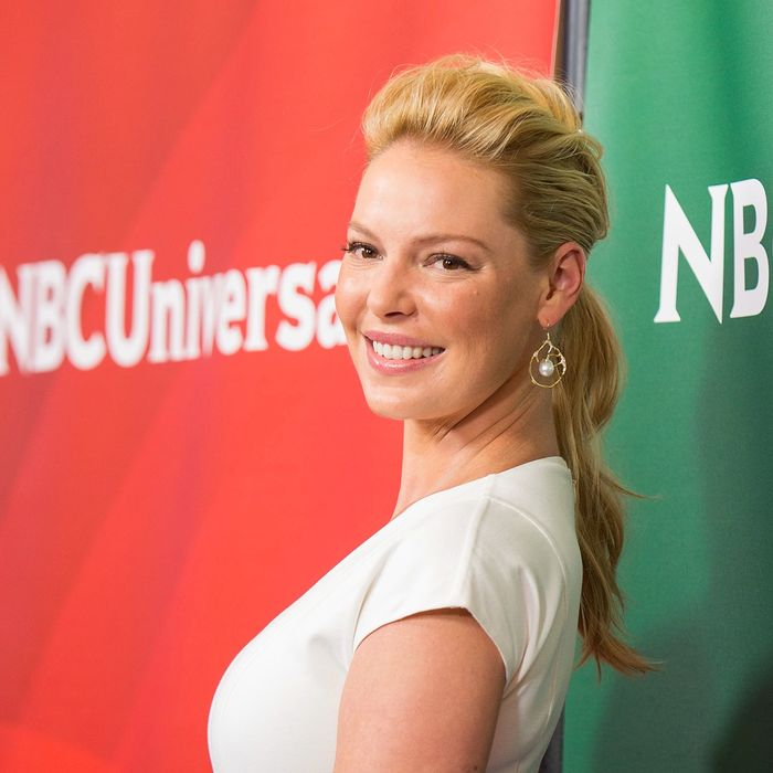 Katherine Heigl Doesn't See Herself As 'Difficult'