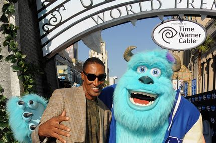 """Former professional basketball player Scottie Pippen attends the world premiere of Disney Pixar's """"Monsters University"""" at the El Capitan Theatre on June 17, 2013 in Hollywood, California."""