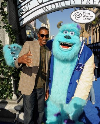 Former professional basketball player Scottie Pippen attends the world premiere of Disney Pixar's