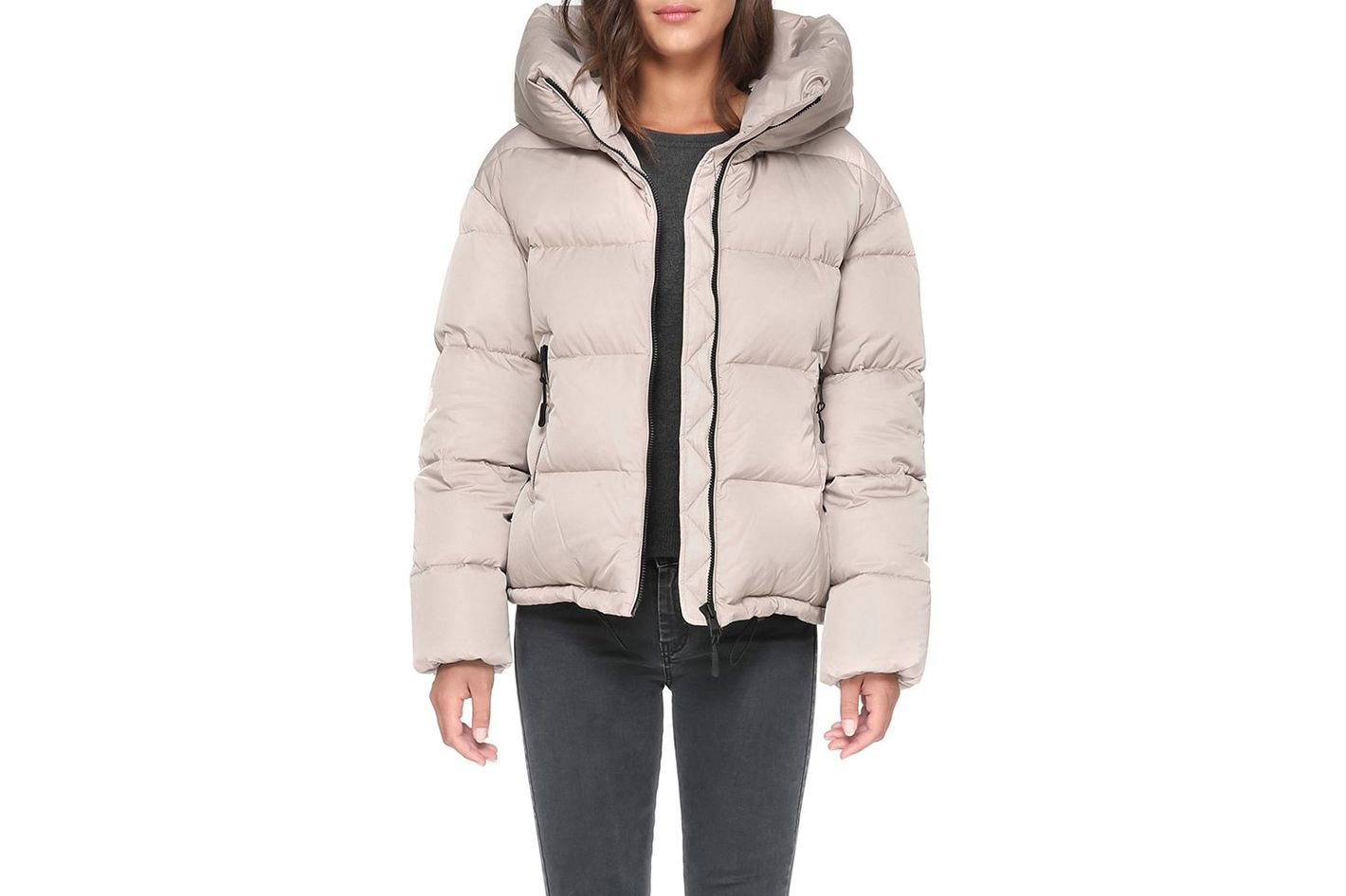 Soia & Kyo Women's Brittany Down Bomber Jacket