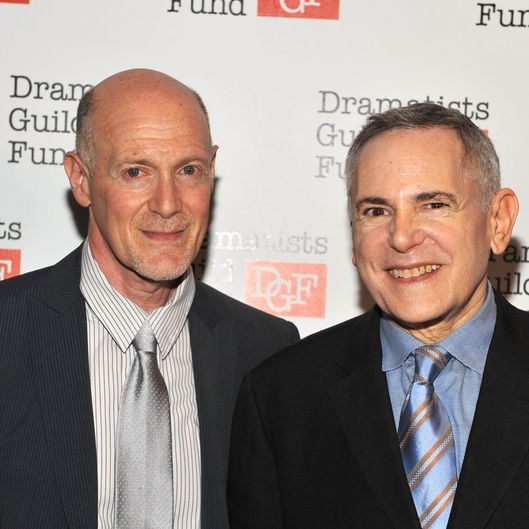 NEW YORK, NY - JUNE 03:  Executive producers Neil Meron and Craig Zadan attend Dramatists Guild Fund's 50th Anniversary Gala Honoring John Kander at Mandarin Oriental Hotel on June 3, 2012 in New York City.  (Photo by Fernando Leon/Getty Images for Dramatists Guild)