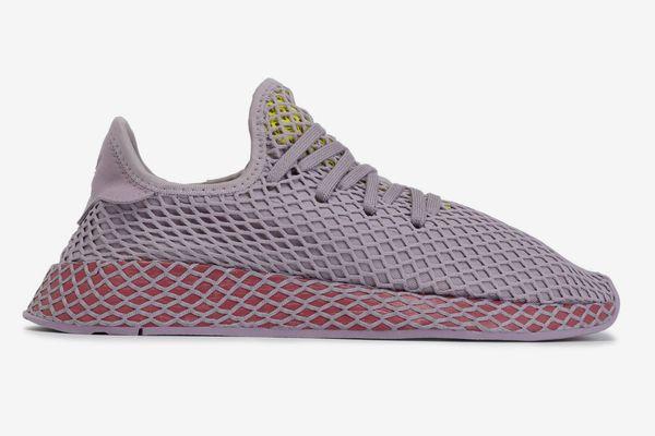 Adidas Deerupt Runner Suede-trimmed Mesh Sneakers
