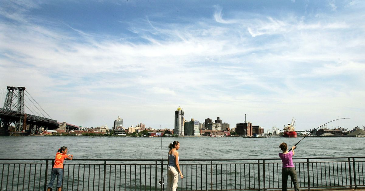 New york s most reckless locavores are apparently fishing for Fishing in new york