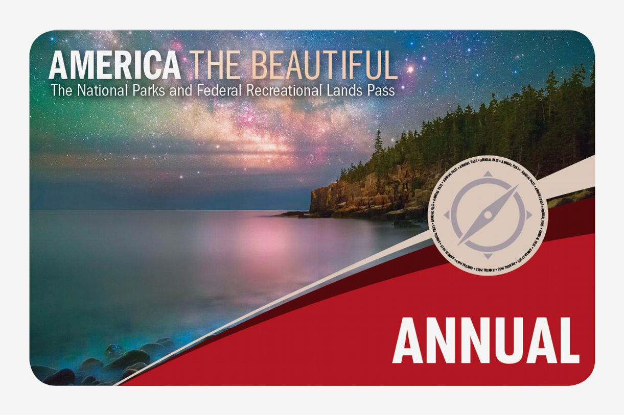 National Parks & Federal Recreational Lands Annual Pass