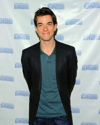 Actor John Mulaney attends the off-Broadway opening night of