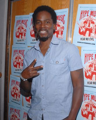 LOS ANGELES, CA - JUNE 16: Actor Harold Perrineau attends the Hype launch party held at Village Recorders on June 16, 2011 in Los Angeles, California. (Photo by Mark Sullivan/Getty Images)