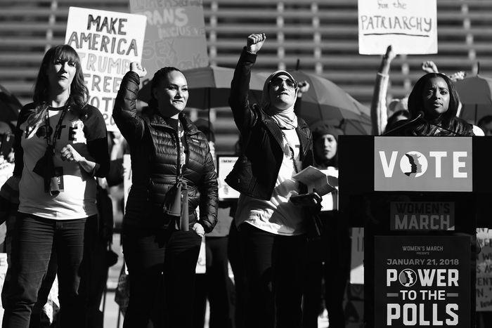 Women's March.