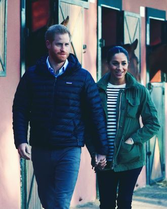 Prince Harry and Meghan Markle in Morocco.