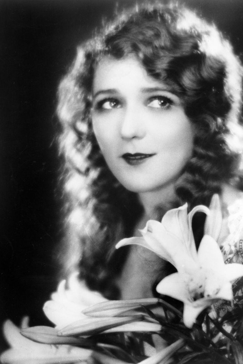 Mary Pickford 50 Curly Hair Icons The Cut