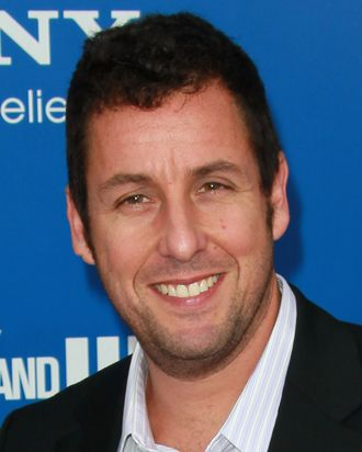 WESTWOOD, CA - NOVEMBER 06: Actor Adam Sandler attends the premiere of Columbia Pictures'