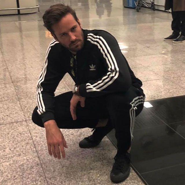 81d9be4c92d Armie Hammer Tells Conan He Is Retiring His Tracksuits