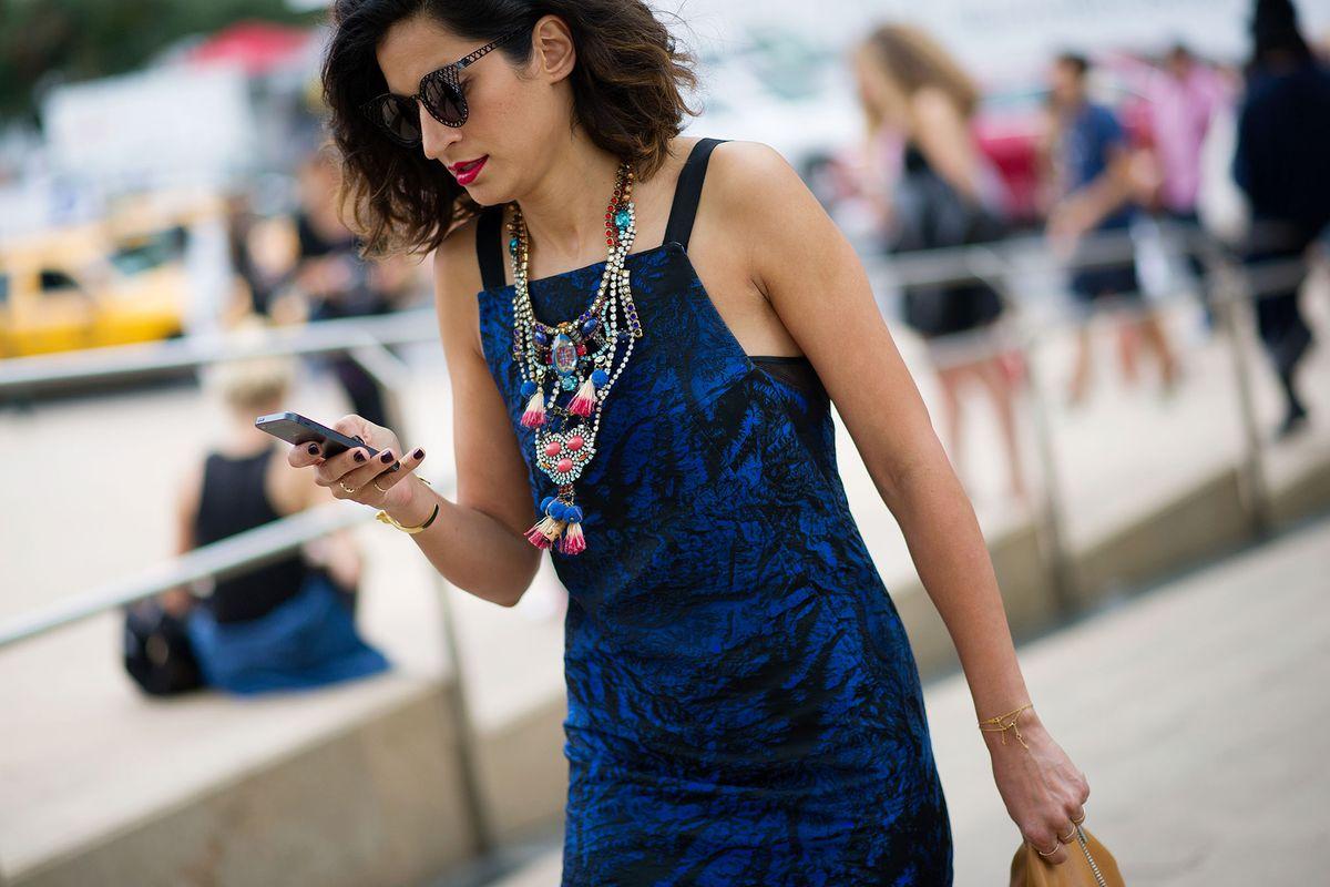 Elena Moussa - Street Style Day 6