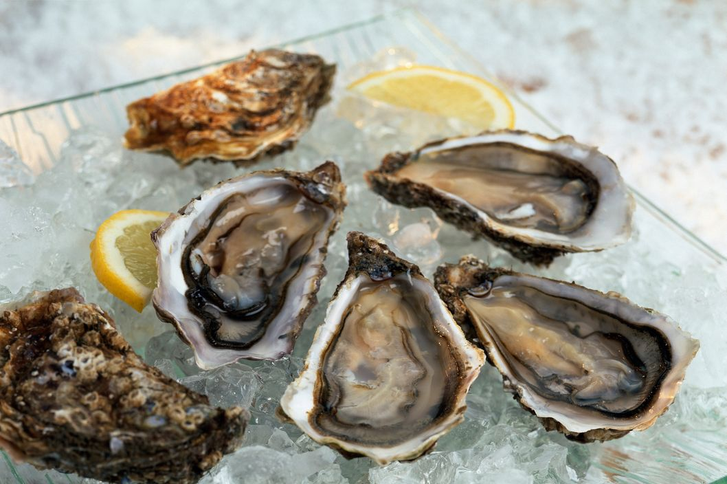 Oysters on ice --- Image by ? Norris/SoFood/Corbis