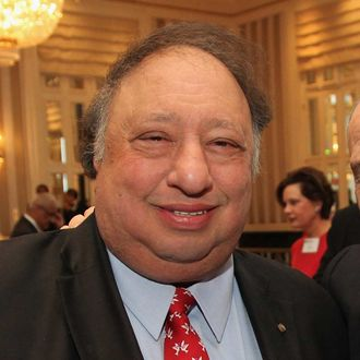 John Catsimatidis attends the State of the NYPD address during The N.Y.C Police Foundation Breakfast on January 23, 2013 at The Waldorf-Astoria Hotel in New York City. NEW YORK, NY - JANUARY 23: (L-R)John Catsimatidis and Police Commissioner Ray Kelly attend the State of the NYPD address during The N.Y.C Police Foundation Breakfast on January 23, 2013 at The Waldorf-Astoria Hotel in New York City. (Photo by Donald Bowers/Getty Images for New York City Police Foundation, Inc.)
