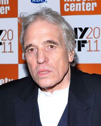NEW YORK, NY - OCTOBER 08: Director Abel Ferrara attends the