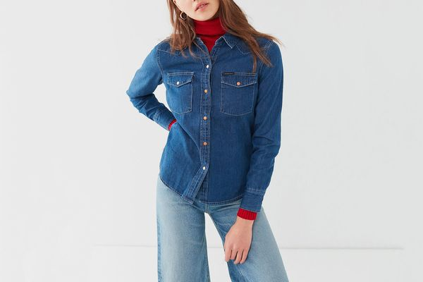 Calvin Klein Western Stitch Denim Shirt