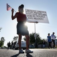 Anti-Muslim Group Holds