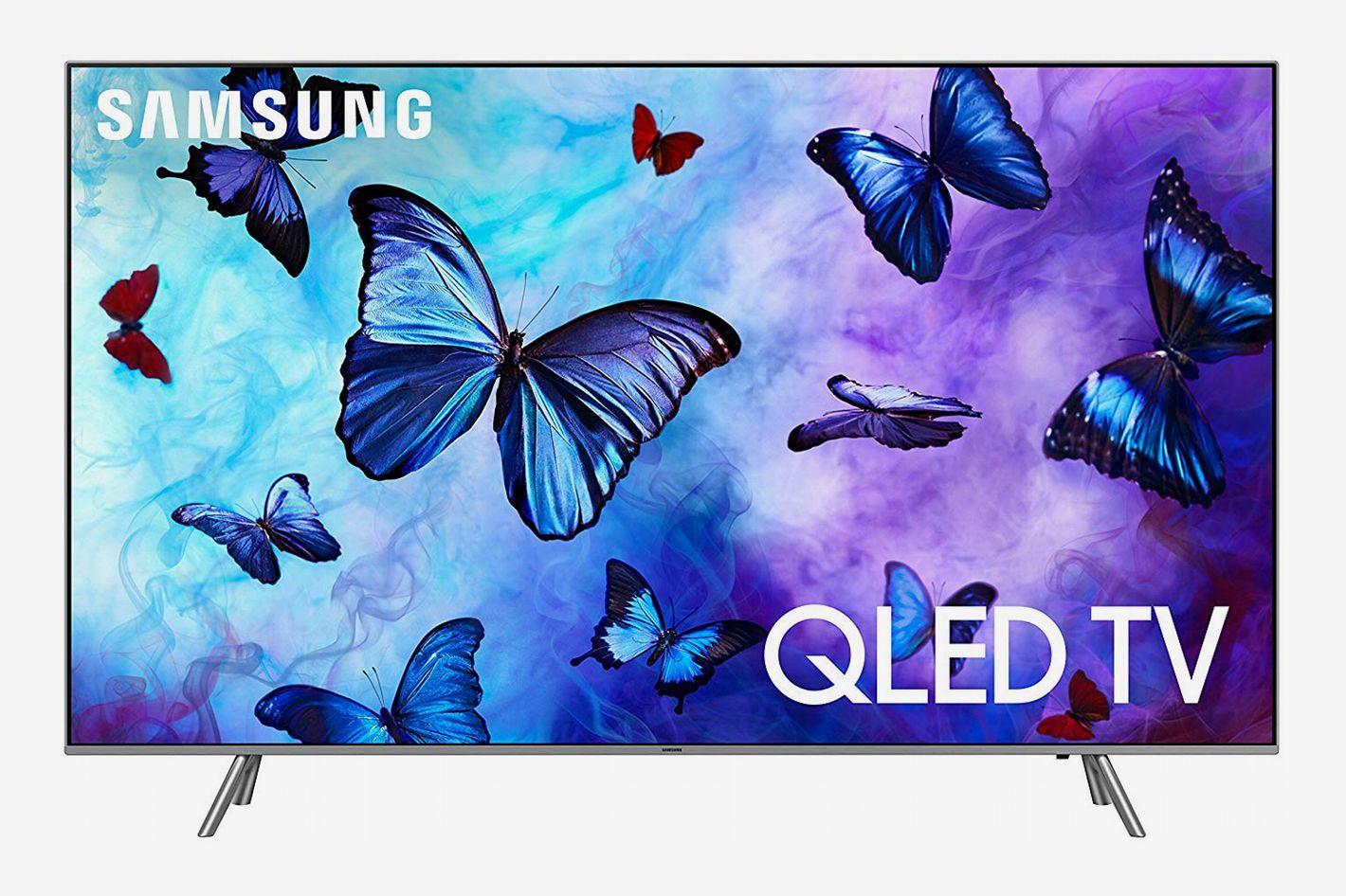 """Samsung QN55Q6F Flat 55"""" QLED 4K UHD 6 Series Smart TV"""