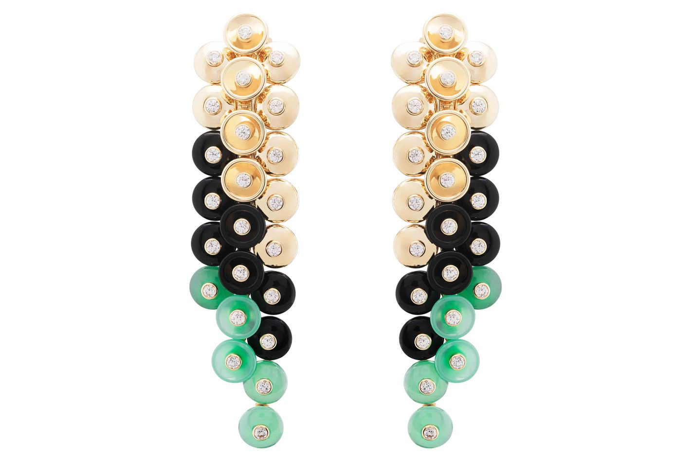 Van Cleef & Arpels Bouton D'or Earrings