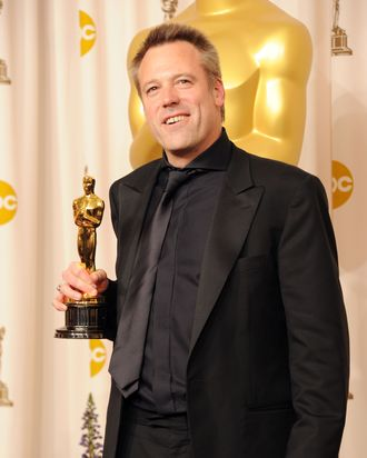 HOLLYWOOD, CA - FEBRUARY 27: Cinematographer Wally Pfister, winner of the award for Best Cinematography for 'Inception', poses in the press room during the 83rd Annual Academy Awards held at the Kodak Theatre on February 27, 2011 in Hollywood, California. (Photo by Jason Merritt/Getty Images) *** Local Caption *** Wally Pfister