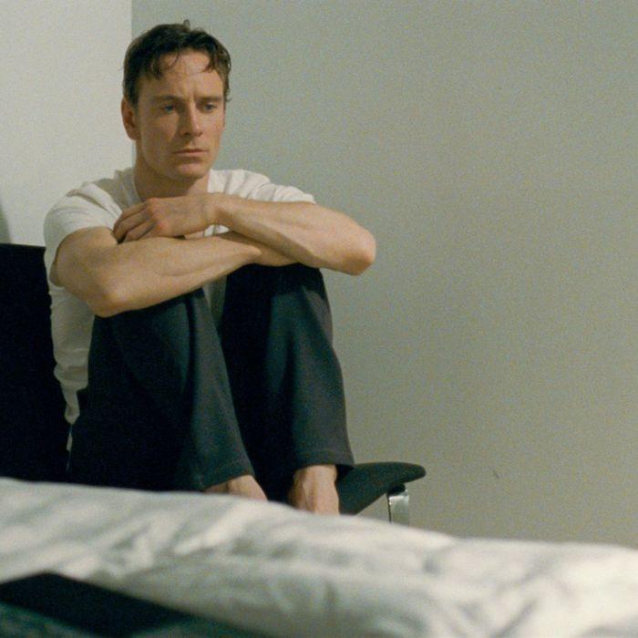 Michael Fassbender in Shame.