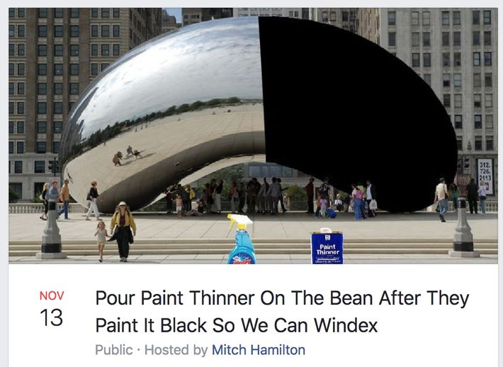 Chicago's Bean Is the Site of a Months-Long Meme War