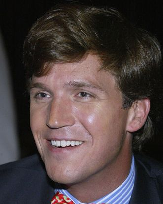 Talk show host Tucker Carlson