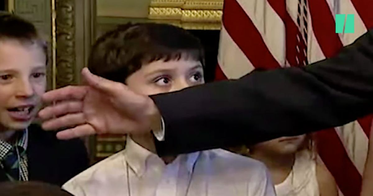 Watch This Kid Demand Mike Pence Apologize After Hitting Him in the Face