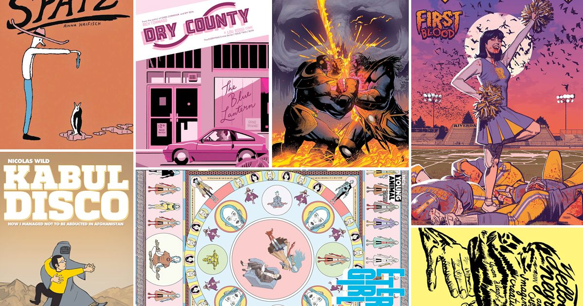 The 8 Best Comics To Read In April