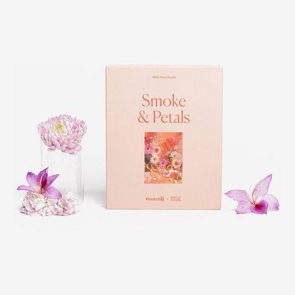 Piecework Puzzles Smoke & Petals 1000-Piece Puzzle