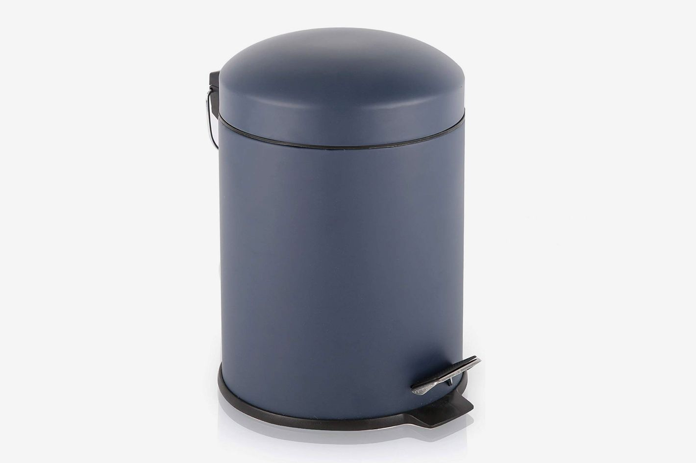 BINO Stainless Steel Matte Navy Trash Can