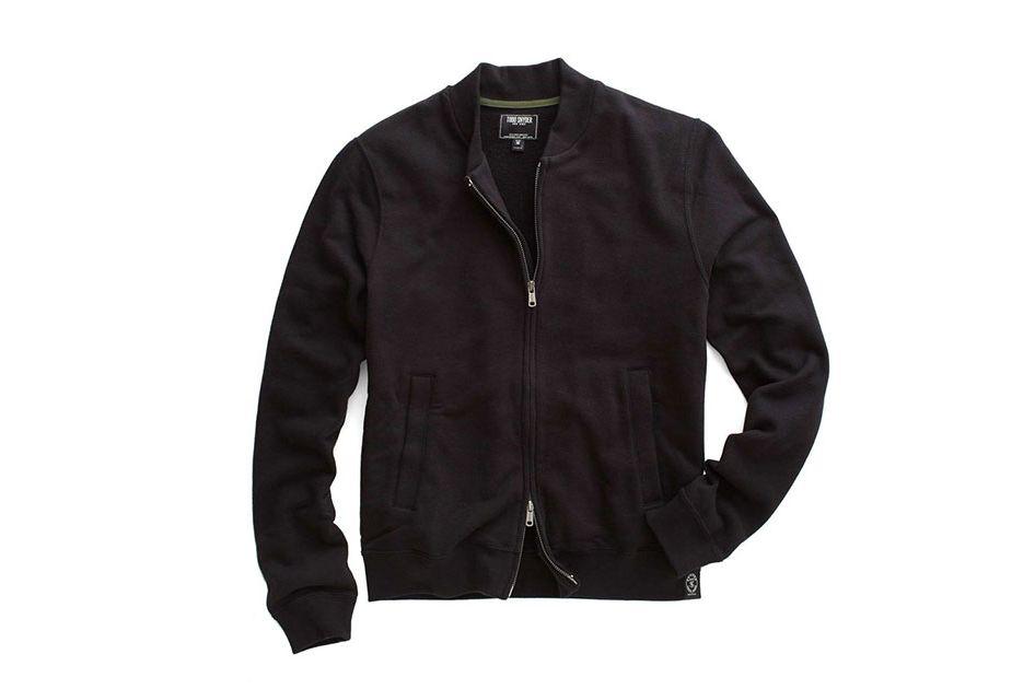 Todd Snyder Fleece Bomber Jacket