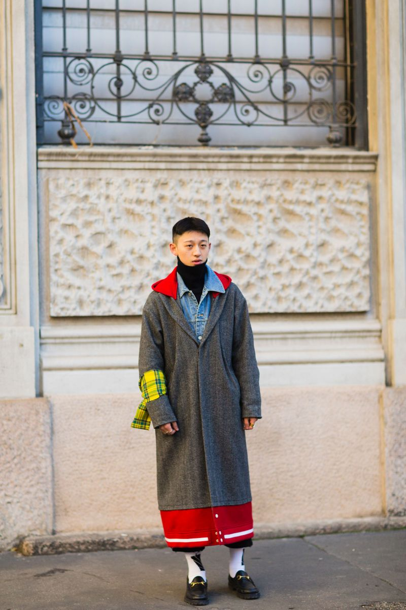 The Best Street Style From Milan Men 39 S Fashion Week The Cut